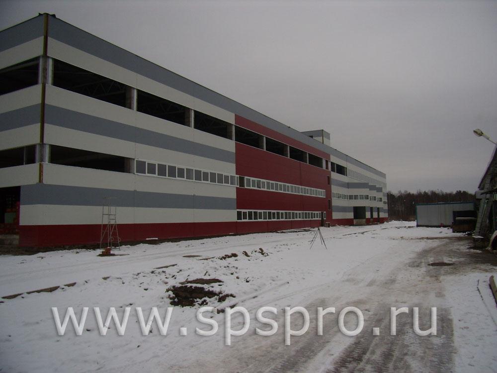 Строительство мебельной фабрики Янтарь в Протвино.